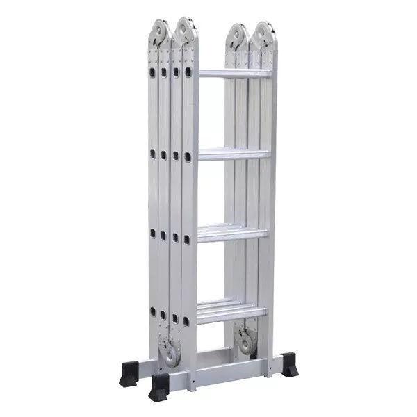 Imagen de Escalera Articulada Multifunción De Aluminio Plegable 4x4